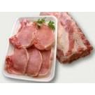 Chuleta de cerdo de castañas